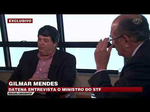Datena Entrevista Gilmar Mendes - Parte 2