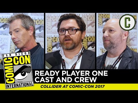 Ready Player One Interviews With Ben Mendelsohn, Ernest Cline, and Zak Penn - Comic-Con SDCC 2017