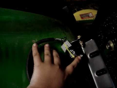 jump a seat switch on la115 YouTube – John Deere L130 Safety Switch Wiring Diagrams