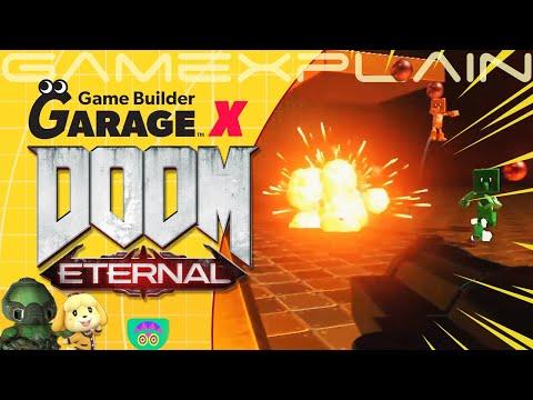 DOOM Eternal x Game Builder Garage?! It's Damned Good! |