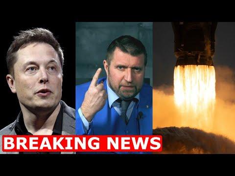 🚀 БАТУТ РАБОТАЕТ! Запуск астронавтов SpaceX Илона Маска. Пародия Максима Галкина. Дмитрий Потапенко