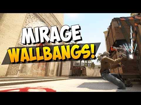 CS:GO - 10 Useful Wallbang Spots On Mirage