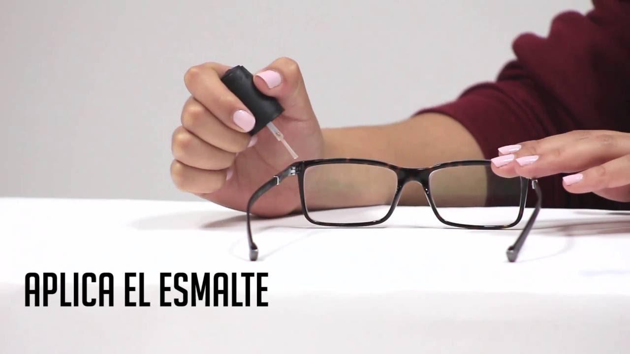 Tip: Como arreglar tus gafas con patillas flojas - YouTube