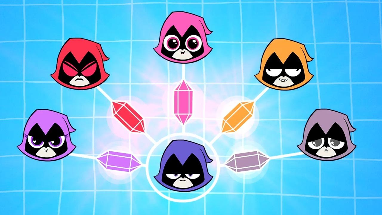 "Download DC Nation - Teen Titans Go! - ""Colors of Raven"" (clip)"