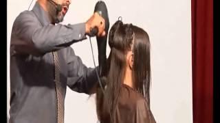 DEMETRIUS | Секреты успеха + стрижка на длинные волосы Часть 1  мастер-класс