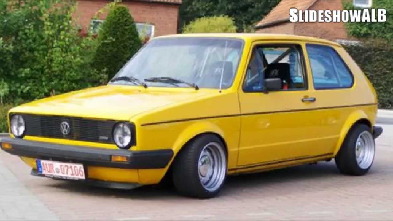 volkswagen golf 1 tuning slideshow hd youtube. Black Bedroom Furniture Sets. Home Design Ideas