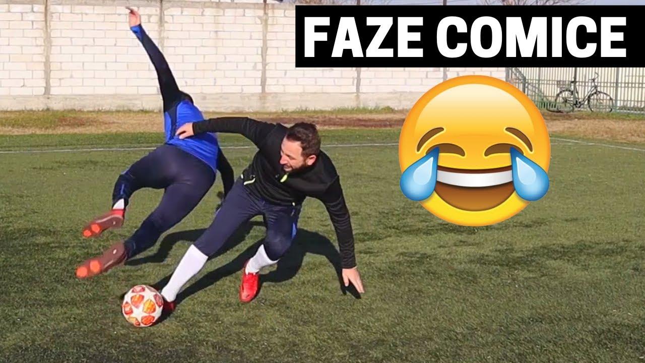 FAZE COMICE   INCEARCA SA NU RAZI IMPROVED FOOTBALL CU Bogdan IBMFamily si Fratele    Faze amuzante
