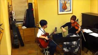 『ギターとフィドル』Live@コーヒーカンタータ ギター さとうひろゆき ...