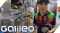 So hart ist der Job in einem Fastfood Restaurant | Galileo | ProSieben