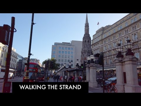Walking The Strand: Trafalgar Square to The Royal Courts of