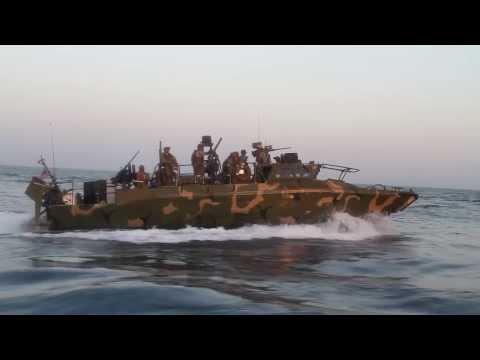 Riverine Boats of US Navy 5th Fleet