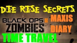 Die Rise Secrets: Space and Time Travel - Dr. Maxis Diary Entry 10, Study #0804 (Episode 1)