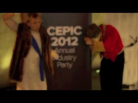 CEPIC 2012- moodboard, London Gala Dinner Party Alex & Craig