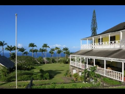 Ottley's Plantation Inn - St Kitts & Nevis, West Indies.