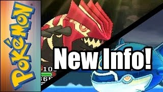 Pokemon Omega Ruby and Alpha Sapphire New Trailer Info!: Primal Groudon/Kyogre; Mega Sableye/Diancie