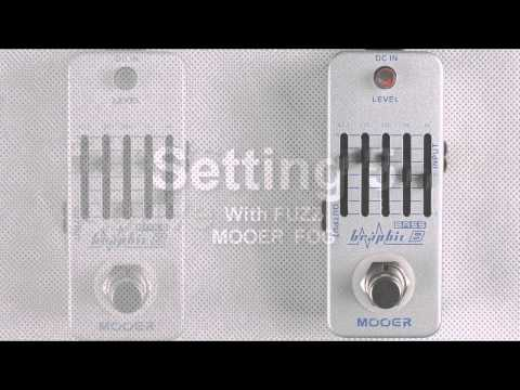 Mooer Graphic B 5-Band Bass Equalizer micro compact pedal