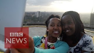 What Kenyans want the world to know ahead of Obama visit - BBC News