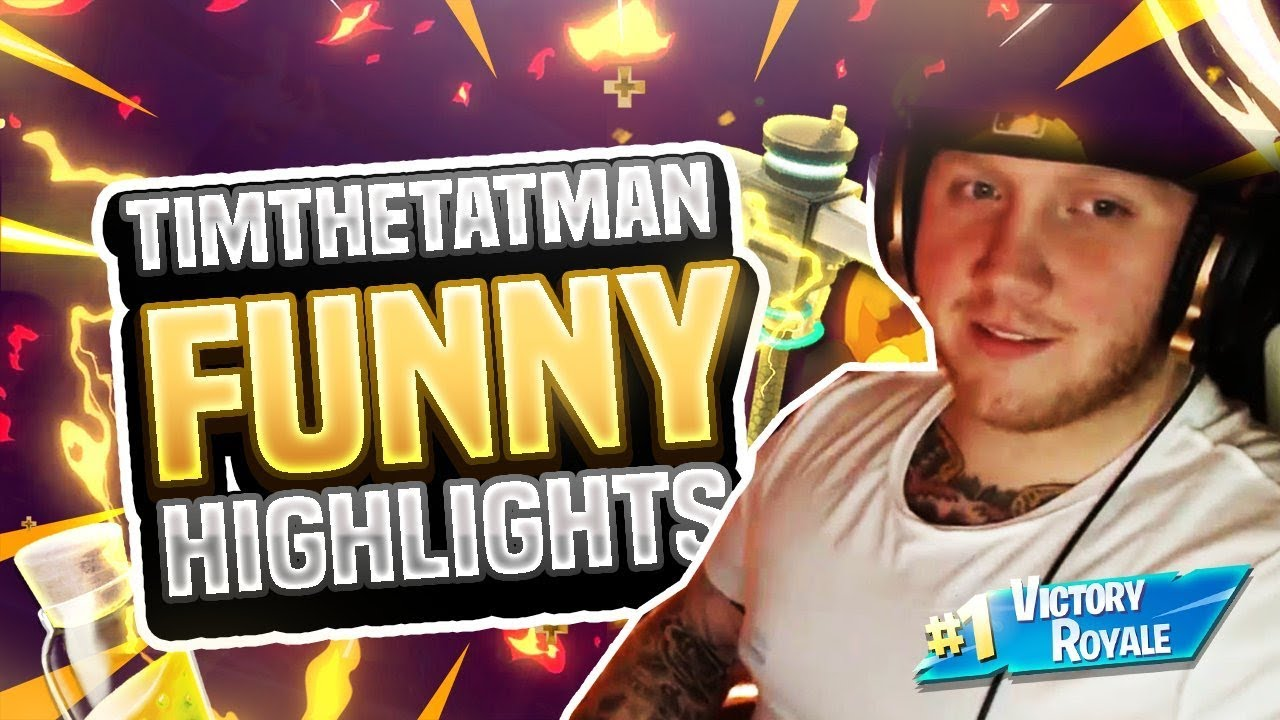 Fortnite Timthetatman Funny Moments Episode 2 ( Funniest Moments )