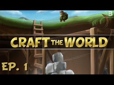 Building A Shelter! - Ep. 1 - Craft the World - Let's Play