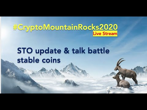 CryptoMountain Rocks 2020 – Online Session about Tokenisation and Stable Coins