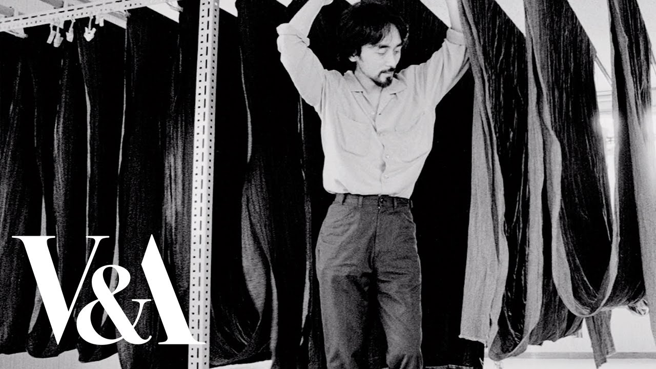 """Yohji Yamamoto: """"Designing men's clothing is very difficult for me""""   V&A"""