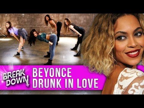 """Beyonce - """"Drunk In Love"""" Music Video Dance Tutorial - Clevver Breakdown"""
