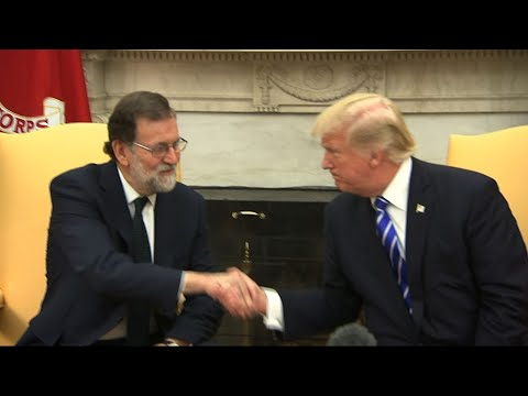 Trump, Spanish PM Meet Before Secession Vote