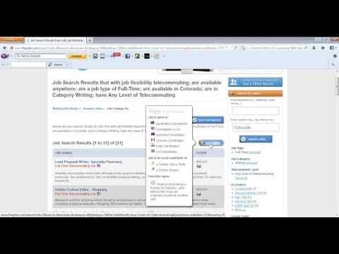 How to Get Started in Your FlexJobs Account (June 13, 2013) by FlexJobs