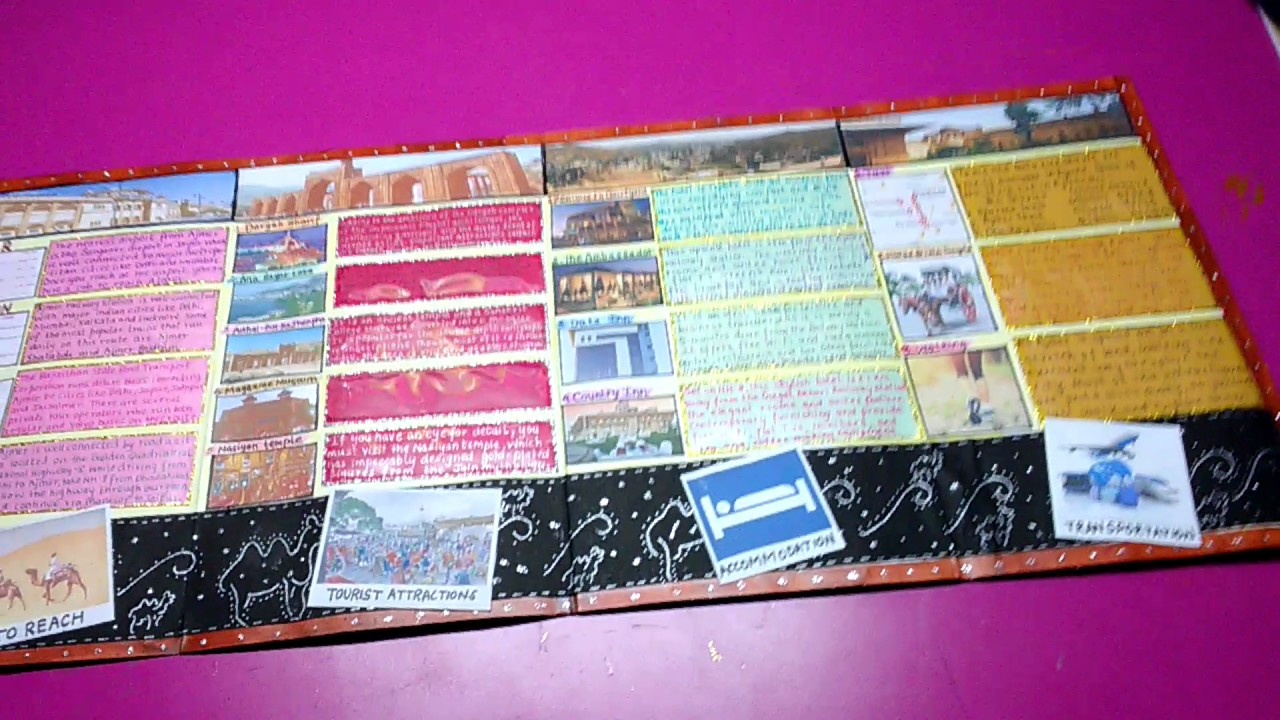 Hand Made Travel Brochure YouTube