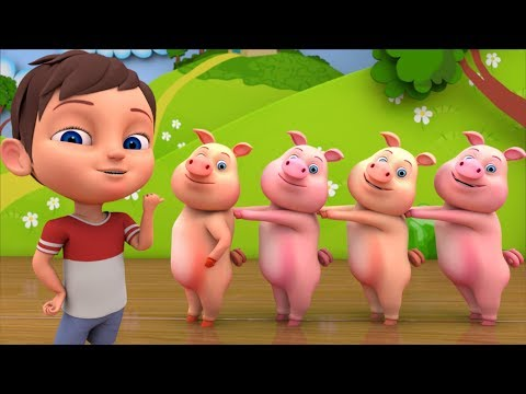 This Little Piggy | Nursery Rhymes for Kids by Little Treehouse