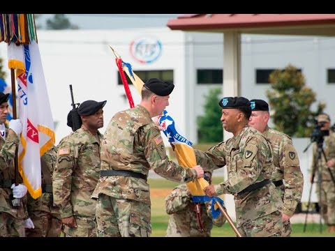 2016: USASAC Change of Command