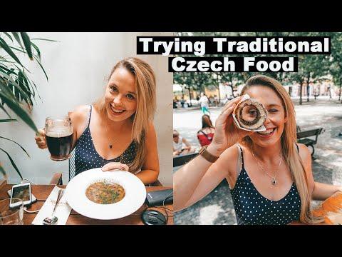 Trying Czech food! | Prague Food Guide | Czech Republic Travel