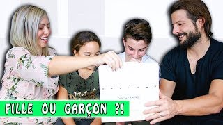 GENDER REVEAL ❤️ FILLE OU GARÇON ?!