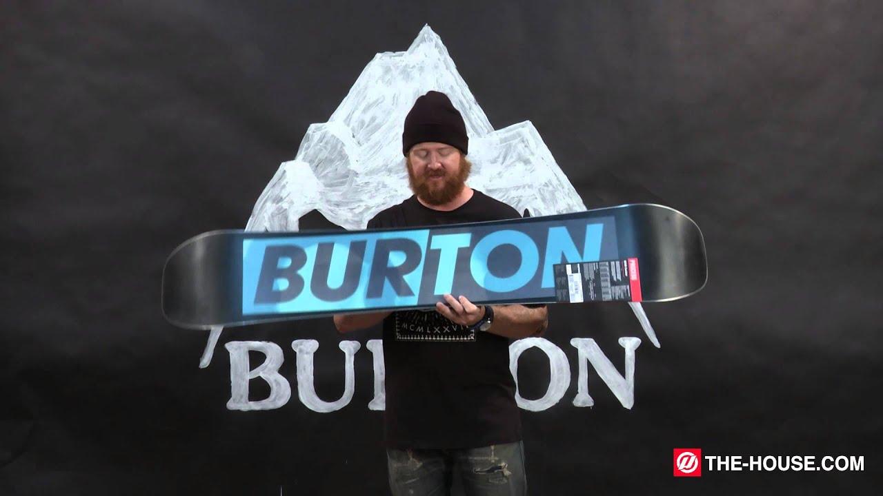 2016 burton process snowboard review the house com youtube