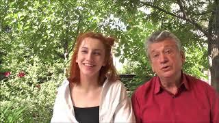 Цвитэ тэрэн/цвіте терен/дуэт деда и внучки/украинская народная песня
