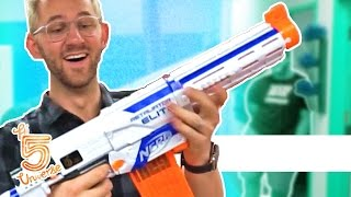 Our First Modded NERF Gun!