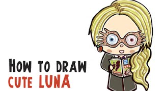 How to Draw Cute Luna (From Harry Potter Cutie/Chibi Collection)