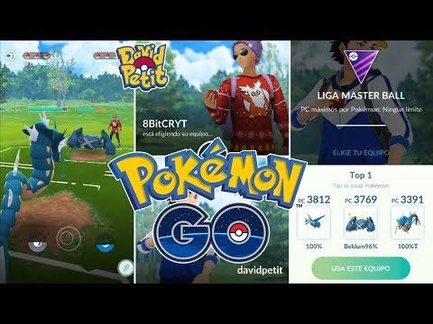 8BitCRYT VS DAVIDPETIT! COMBATES EN LA LIGA MÁSTER! ¿QUIÉN GANARÁ? [Pokémon GO-davidpetit] thumbnail