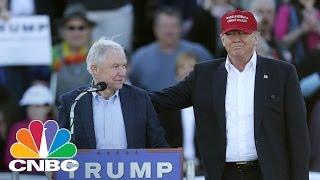 Donald Trump Offers Sen. Jeff Sessions Attorney General Post | Squawk Box | CNBC