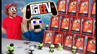 FGTEEV & Puppet Steve VS. the WALL OF MINI TEEV's Mega Unboxing!