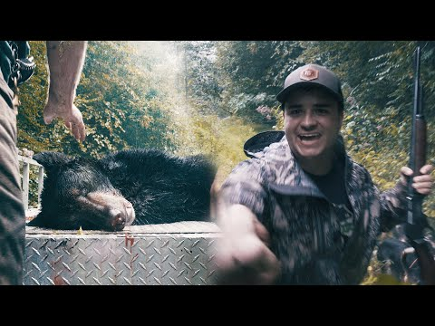 OPENING DAY BEAR ON THE GROUND! – Hunting with Hounds