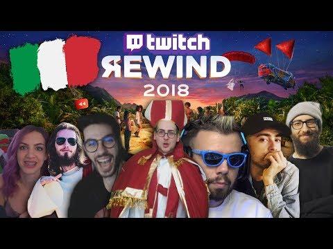 Twitch Italia Rewind 2018 🔥 #TwitchRewind