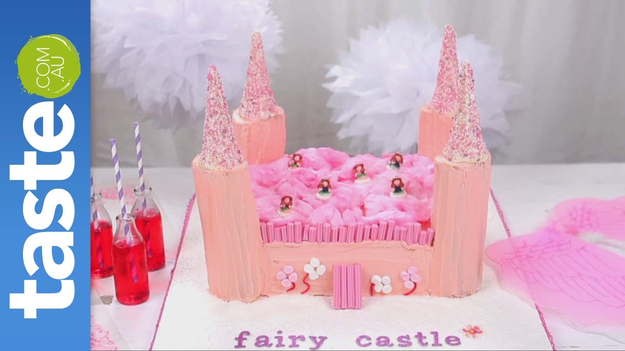 How To Make A Fairy Castle Cake Youtube
