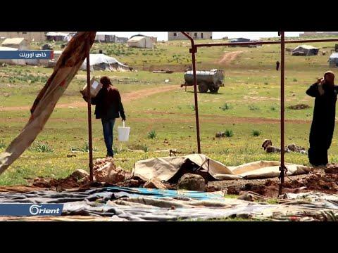-أورينت للأعمال الإنسانية- تنظم حملة لمساعد النازحين في المخيمات بإدلب - سوريا  - 00:59-2019 / 4 / 13