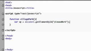 Javascript for beginners 20 - getElementById