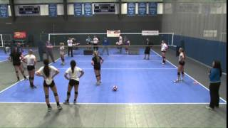 Learn a Rapid-Fire Drill for Digging Balls! - Volleyball 2015 #32