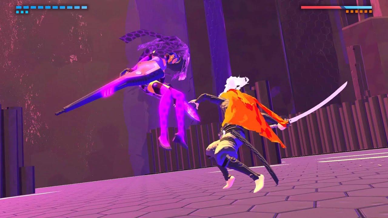 Furi's merciless boss-fight gauntlet is as brilliant as it