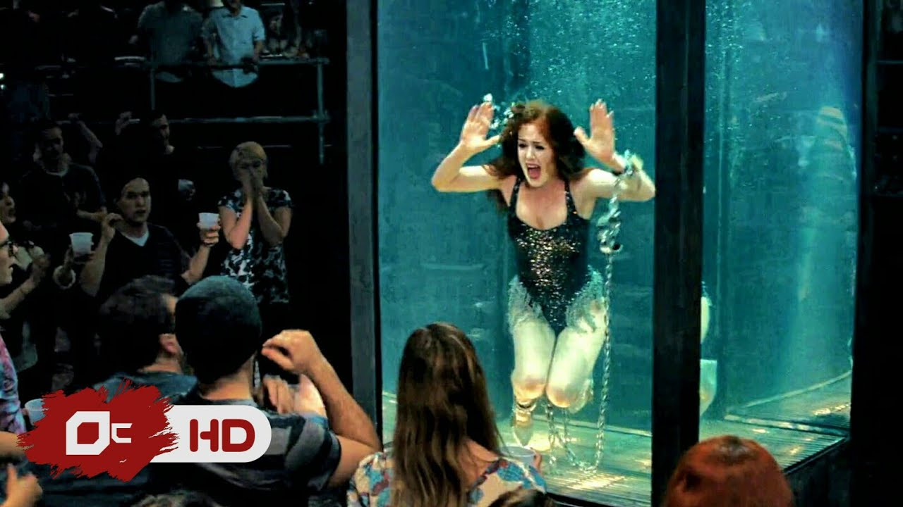 Download Now You See Me 1 (2013) movie clip. Piranha Tank in girl.