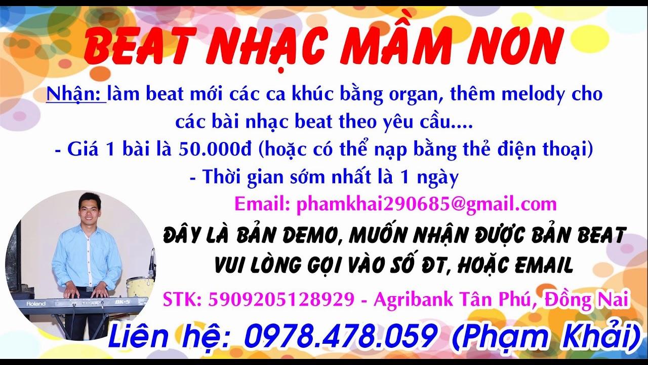 Ông Mù Xem Voi - Beat Mầm Non - Beat Organ BK5 - DEMO