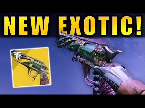 Destiny 2: NEW Malfeasance Exotic Hand Cannon! - Tangled Shore Gameplay   Forsaken thumbnail